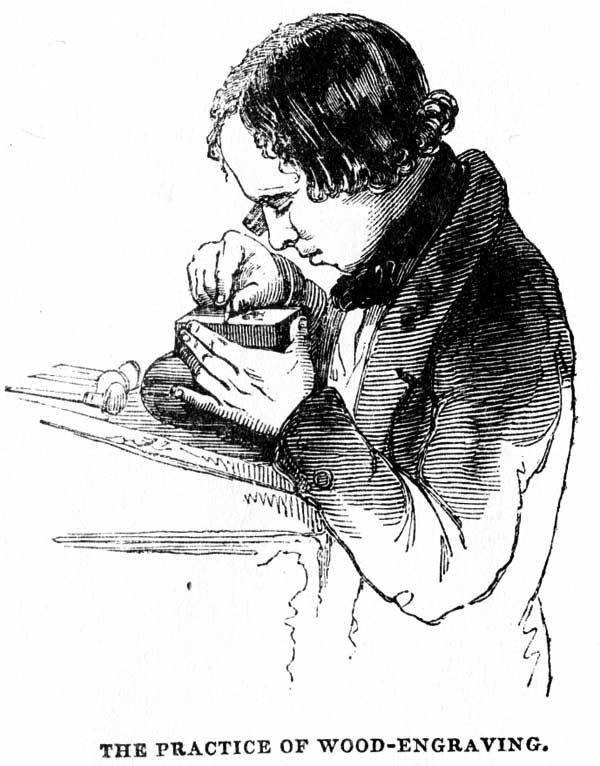 practice of wood engraving