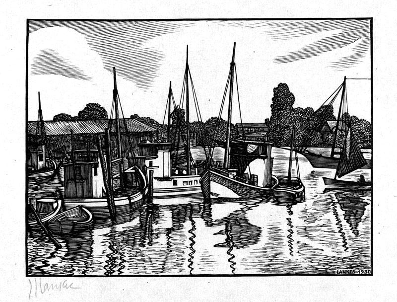 jj lankes boats in a harbour