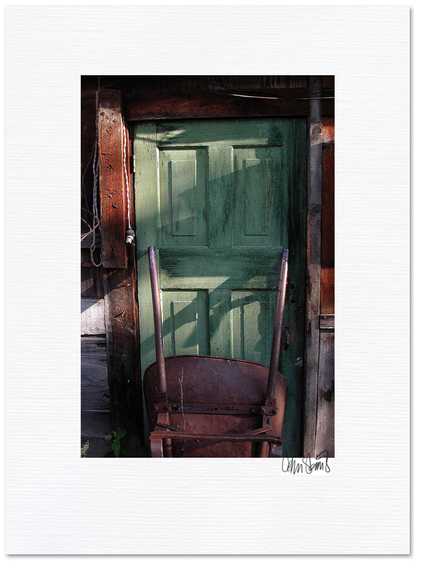 The Green Door ~ © John Steins