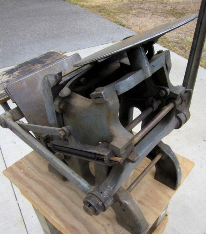 Chandler & Price Platen Press